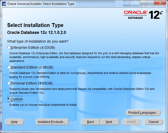 ConnectOracleVB6OracleInstall1