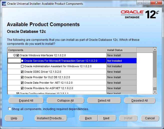 ConnectOracleVB6OracleInstall2