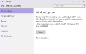 Windows10WindowsUpdateCannotInstallIntelDrivers