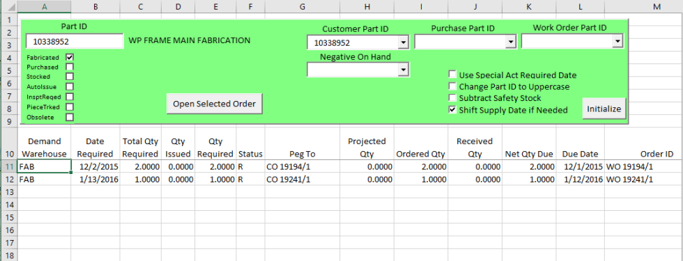 material-planning-in-excel